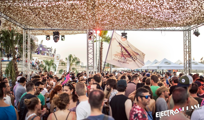 ElectroSplash 2017 - acceso a main stage (Jota Martínez Photo)